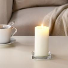 كتلة شمع معطر, فانيليا حلوة/لون طبيعي14 سم